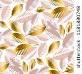 simple concept luxury geometric ...   Shutterstock .eps vector #1181880748