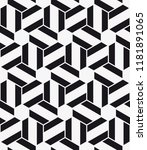 vector seamless pattern.... | Shutterstock .eps vector #1181891065