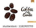 coffee shop or cafe flyer... | Shutterstock .eps vector #1181905795