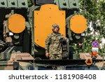 warsaw  poland   august 15 ... | Shutterstock . vector #1181908408