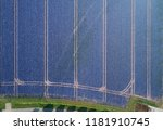 aerial view with a drone of a... | Shutterstock . vector #1181910745