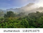 the beautiful area of hpa an | Shutterstock . vector #1181911075