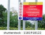 petroleum spirit highly... | Shutterstock . vector #1181918122