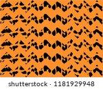 leopard pattern zigzag design ... | Shutterstock .eps vector #1181929948