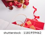 christmas and new year... | Shutterstock . vector #1181959462