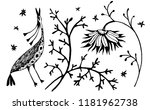 hand drawn illustration of a... | Shutterstock .eps vector #1181962738