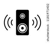 speaker icon flat trendy style   Shutterstock .eps vector #1181971402