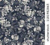 floral seamless pattern. hand... | Shutterstock . vector #1181982865