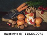 holiday background saint... | Shutterstock . vector #1182010072
