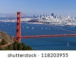 San Francisco Panorama W Golden ...