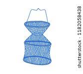 fishing net doodle icon | Shutterstock .eps vector #1182058438