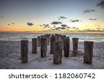 Dilapidated Ruins Of A Pier On...