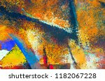 Abstract Art Original Oil And...