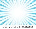 modern sunburst halftone... | Shutterstock .eps vector #1182070732