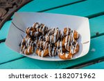 Carton Of Mini Donuts Glaced...