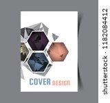 business brochure. flyer design.... | Shutterstock .eps vector #1182084412