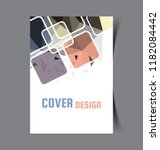 business brochure. flyer design.... | Shutterstock .eps vector #1182084442