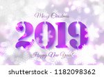 2019 abstract merry christmas... | Shutterstock .eps vector #1182098362