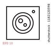 camera vector icon pocket... | Shutterstock .eps vector #1182120598