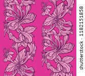 floral seamless pattern.... | Shutterstock .eps vector #1182151858
