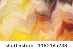 colorful wavy striped zigzag... | Shutterstock . vector #1182165238