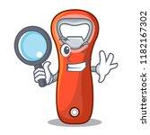 detective aluminium bottle... | Shutterstock .eps vector #1182167302
