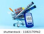 diabetes concept. diabetes.... | Shutterstock . vector #1182170962