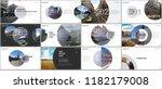 minimal presentations design ... | Shutterstock .eps vector #1182179008