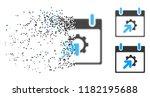 gear integration calendar day... | Shutterstock .eps vector #1182195688
