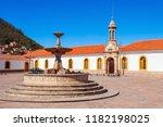 la recoleta santa ana monastery ... | Shutterstock . vector #1182198025