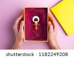 pregnancy concept. the nipple... | Shutterstock . vector #1182249208