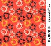 retro style textile seamless... | Shutterstock .eps vector #1182260422