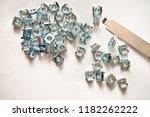 rack mounting equipment cage... | Shutterstock . vector #1182262222