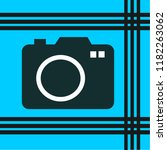 camera vector icon | Shutterstock .eps vector #1182263062