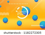 colorful geometric background... | Shutterstock .eps vector #1182272305