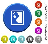 rotate image left round color...   Shutterstock .eps vector #1182275938