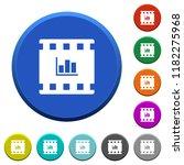 movie statistics round color...   Shutterstock .eps vector #1182275968