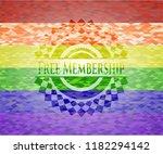 free membership on mosaic... | Shutterstock .eps vector #1182294142