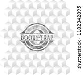 booby trap grey emblem with... | Shutterstock .eps vector #1182342895