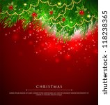 vector illustration of xmas... | Shutterstock .eps vector #118238365