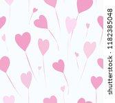 abstract balloons seamless... | Shutterstock .eps vector #1182385048