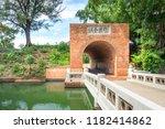 the eternal golden castle in...   Shutterstock . vector #1182414862