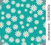 Daisies. Seamless Pattern. Eps 8