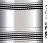 Gray Background Perforated Sheet