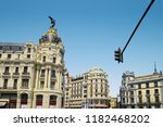 madrid  spain   august 31  2018 ... | Shutterstock . vector #1182468202