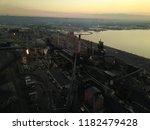 aerial drone flight over a...   Shutterstock . vector #1182479428