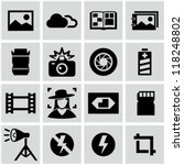 photo icons | Shutterstock .eps vector #118248802