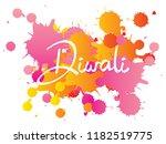 diwali or deepavali   festival... | Shutterstock .eps vector #1182519775
