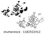 franz josef land  archipelago... | Shutterstock .eps vector #1182522412