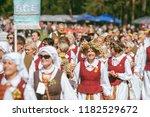 vilnius  lithuania   july 06 ... | Shutterstock . vector #1182529672